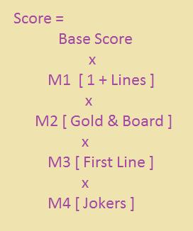 Score calculation