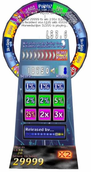 Bonus round - Prizes